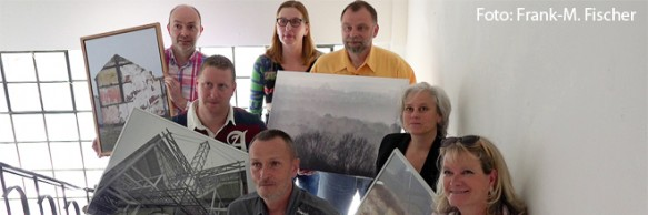 Foto von der Ausstellung Heimart im Kunstverein Duisburg
