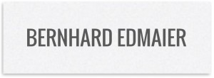 Logo Bernhard Edmaier