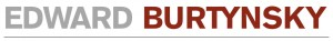 Logo Edward Burtynsky