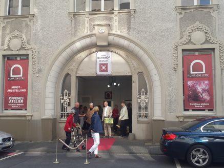 Foto von der Ausstellungseröffnung Kontra•
