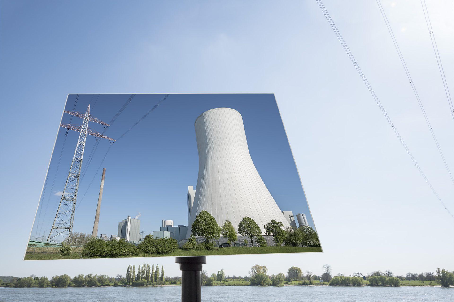 Kraftwerk Walsum/Rhein II • Lambda-Print auf FUJIFILM Crystal Archive DPII, 75 x 50 cm, rahmenloser Bilderhalter • Auflage: 5 + 2 Artist's Proof