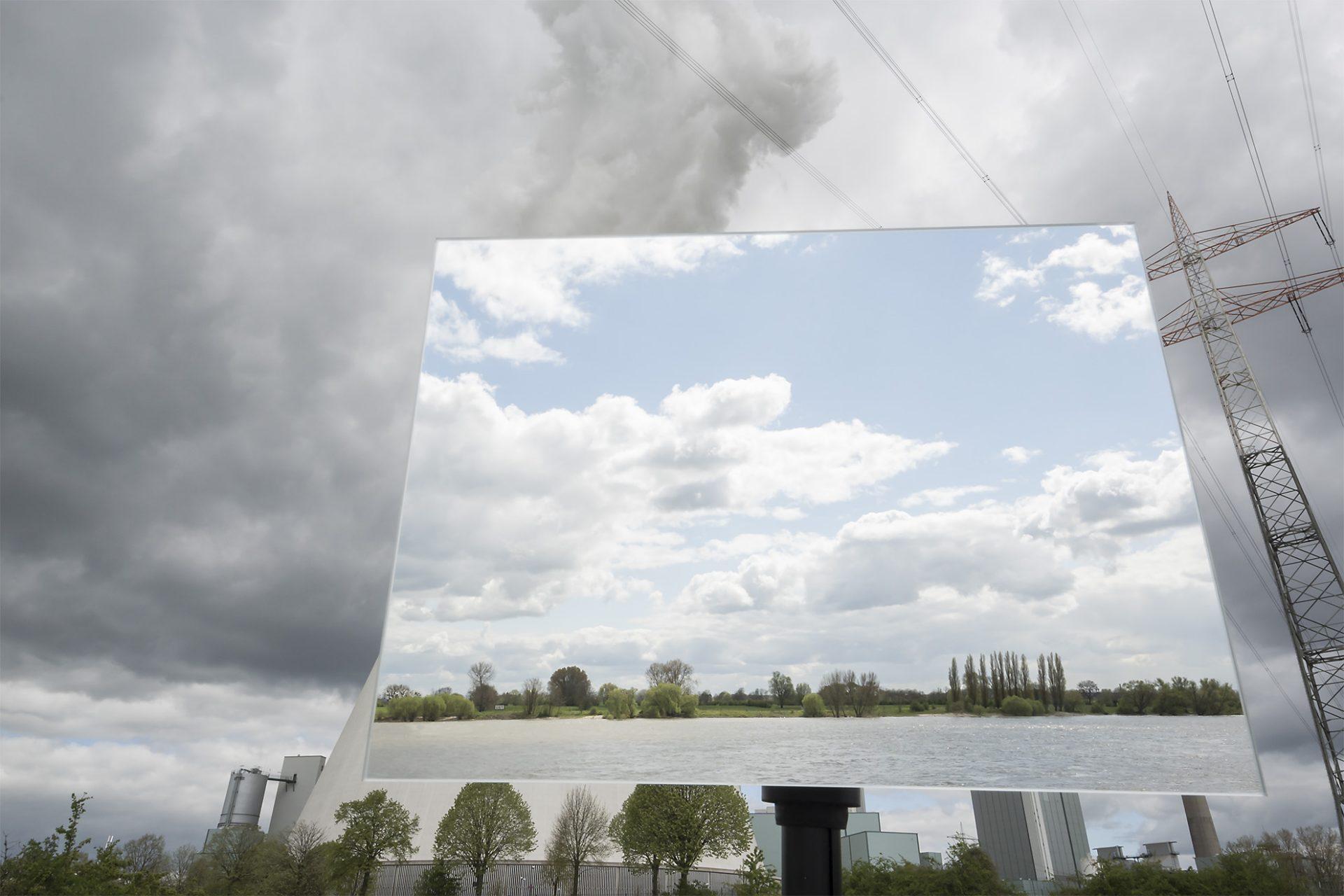 Rhein/Kraftwerk Walsum I • Lambda-Print auf FUJIFILM Crystal Archive DPII, 75 x 50 cm, rahmenloser Bilderhalter • Auflage: 5 + 2 Artist's Proof