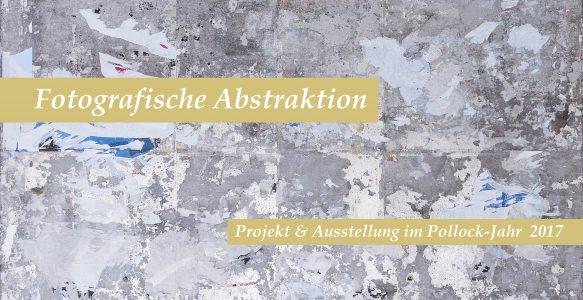 Einladungskarte zur Ausstellung Fotografische Abstraktion