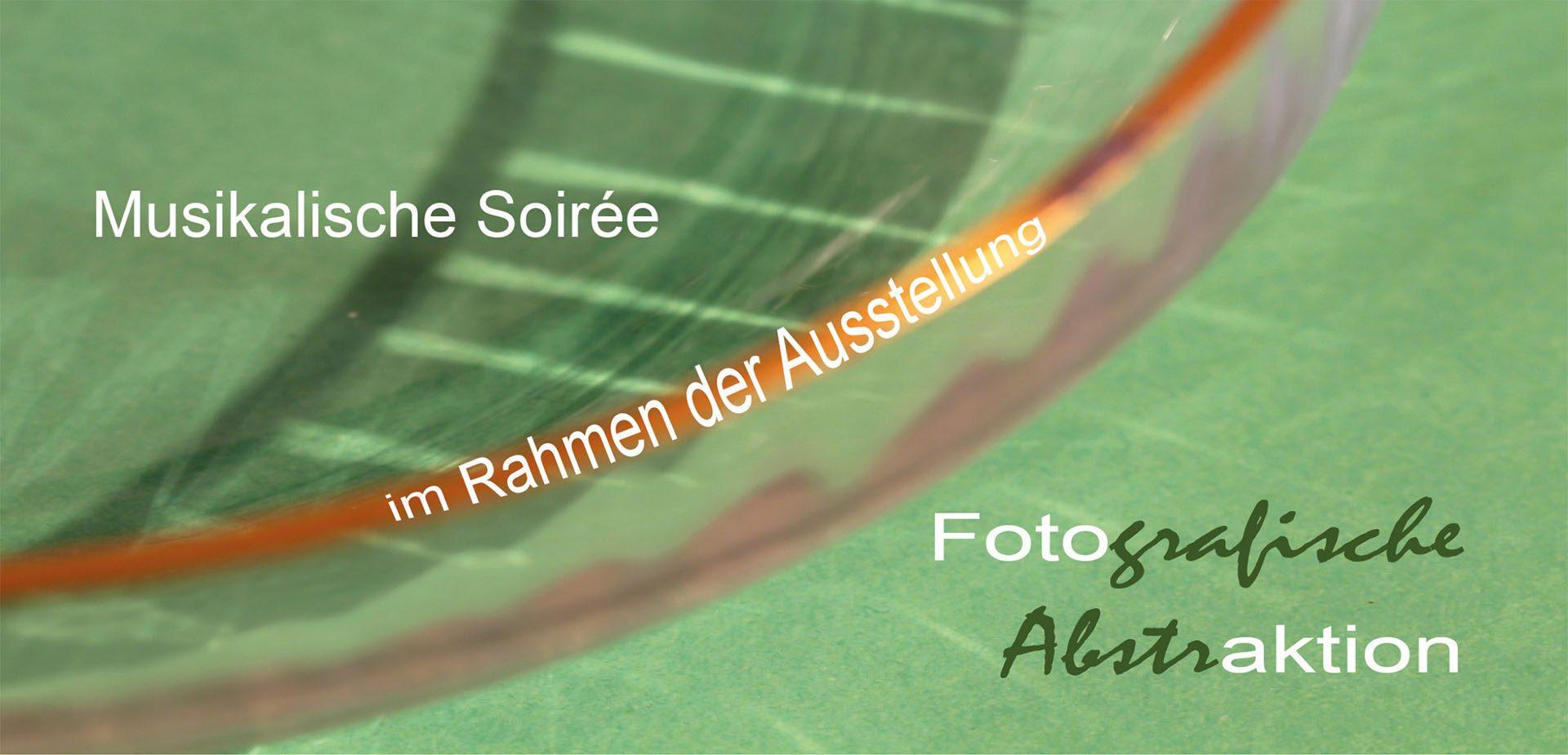 Einladungskarte zur Soirée mit Zsuzsa Debré
