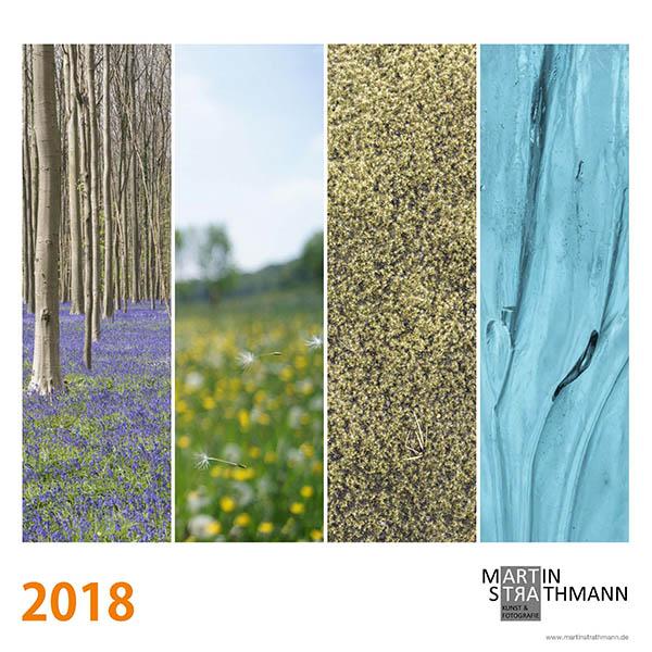 Titelseite vom Kalender 2018 von Martin Strathmann
