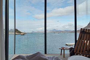 Blick aus dem Fenster, Manshausen Island