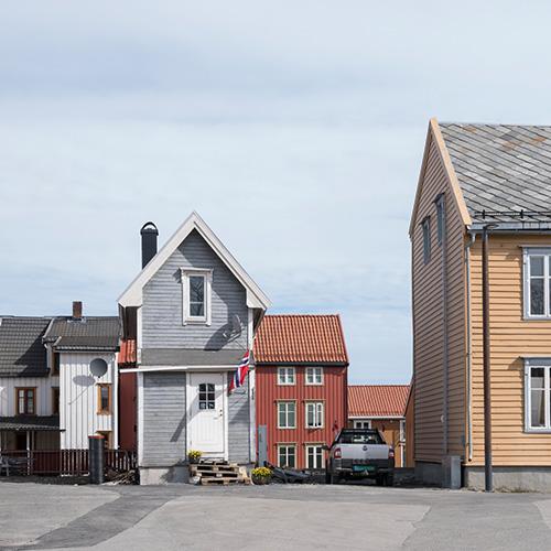 sehr schmales Haus in Tromsö - Medaille beim German International DVF-Photocup (GIP) 2018
